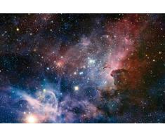 Set: Espace Et Univers, La Naissance D'Étoiles Dans La Nébuleuse De La Carène Poster (91x61 cm) Et 1x Poster De Collection 1art1®