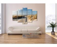 Impression sur toile - 150x100 cm - Image sur toile - 5 Parties - encadrée - prete a suspendre - plusieurs éléments - Tableaux pour la mur - Photo N° 2657 - tableau EA150x100-2657