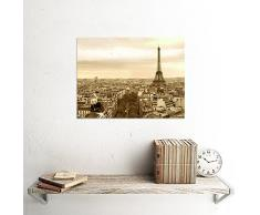 PHOTOGRAPHY CITYSCAPE PARIS FRANCE EIFFEL TOWER ART PRINT 12x16 '' POSTER MP3331B