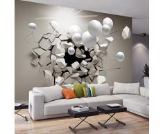 murando Papier peint intissé 350x256 cm Décoration Murale XXL Poster Tableaux Muraux Tapisserie Photo Trompe loeil Abstraction Sphere 3D a-C-0002-a-b