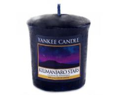 Yankee Candle 1344796E Bougie Votive L Étoile du Kilimandjaro Combinaison Bleu 4,6 x 4,5 x 5 cm 49 g
