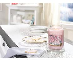 Yankee Candle 1275342 Bougie Parfumée en Pot Biscuit Flocon Rose