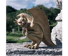 Design Toscano OS68829 Sculpture de Gargouille Légende de Cambridge Grand Résine