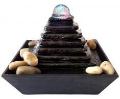 Fontaine d'intérieur avec boule de verre Pyramid