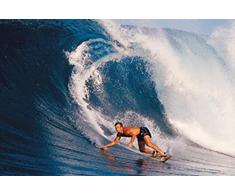 1art1 Surf Poster - Touchant La Vague (91 x 61 cm)