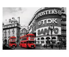 1art1 49091 Poster Londres Bus Rouges Piccadilly Circus 91 x 61 cm