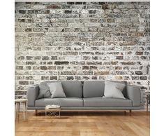 Papier peint brique acheter papiers peints briques en - Tapisserie effet pierre ...