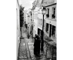 1art1® 36651 Poster Paris Le Baiser The Kiss 91 x 61 cm