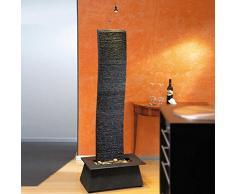 Rêve de jardin mur d'eau fontaine avec éclairage - Aneko, pierre gris