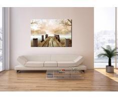 Impression sur toile - un élément - largeur : 120cm, hauteur : 80cm - Image sur toile - Photo N° 2394 - prete a suspendre - encadrée - Tableaux pour la mur - motif moderne - Décoration - pret a accrocher - tableau: AA120x80-2394