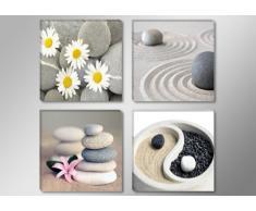 impression sur toile spa abstrait 6607-SCT - peinture / image / tableau / decoration sur châssis 4 x 30 x 30 cm