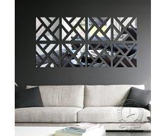 le sticker miroir un adh sif bien original livingo. Black Bedroom Furniture Sets. Home Design Ideas