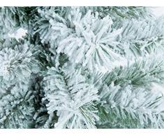 Europalms Sapin/arbre de noël/sapin floqué, 210cm