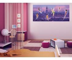 DISNEY FAIRIES / Poster géant Horizontal- Papier peint Fée Clochette 202x90 cm-Décoration murale -