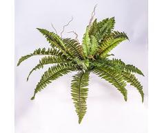 Fougère de Boston artificielle, 32 feuilles, 55 cm, Ø 70 cm - fougère plastique / plante artificielle - artplants
