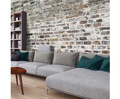 murando – Papier peint intissé 500x280 cm - Papier peint - Trompe l oeil - Tableaux muraux- déco – Texture Brique Mur f-A-0457-a-a