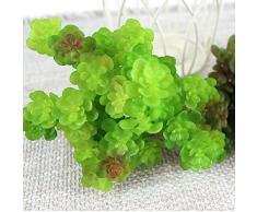 Plante Succulente Artificielle Décoration pour Maison Vert