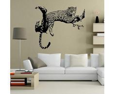 Vovotrade Leopard Stickers Salon Chambre Décoration amovible Poster Wallpaper