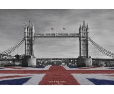 GB eye 61 x 91,5 cm Motif Tower Bridge-Tanya Chalkin Poster Maxi couleurs assorties