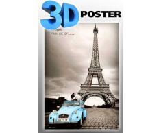 Empire Poster 3D avec Accessoire Paris Romantique
