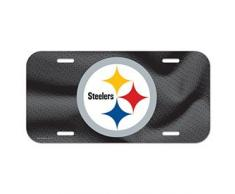 Wincraft NFL Plaque dimmatriculation américaine de Football américain NFL Football Pittsburgh Steelers