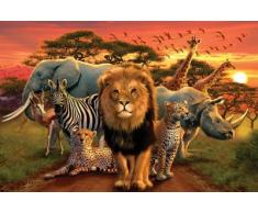 1art1 49666 Poster Animaux Faune Africaine 91 x 61 cm