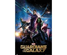 Guardians Of The Galaxy Marvel Poster grand format 61 x 91,5 cm
