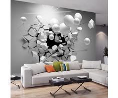 murando Papier peint intissé 350x256 cm Décoration Murale XXL Poster Tableaux Muraux Tapisserie Photo Trompe loeil Abstraction Sphere 3D a-C-0002-a-d