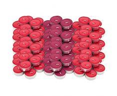 Ikea SINNLIG Lot de 120 Bougies Chauffe-Plat parfumées aux Baies Rouges