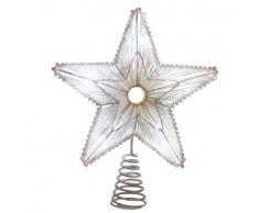 Blachere Illumination JF63 Éclairage de Noël Cimier Etoile Tissage Lumineux 25 cm