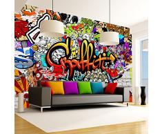 murando Papier peint intissé 350x256 cm Décoration Murale XXL Poster Tableaux Muraux Tapisserie Photo Trompe loeil Graffiti f-A-0348-a-b