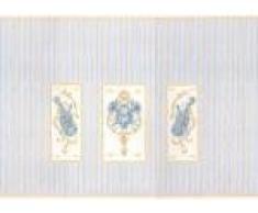 Maison De Poupées Miniature Imprimé 1:12 Échelle Classique Salle De Musique Papier Peint