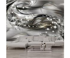 murando – Papier peint intissé 300x210 – Trompe l oeil – Tableaux muraux déco XXL – abstraction Diamant a-A-0168-a-d