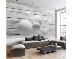 murando – Papier peint intissé – 400x280 cm – Papier peint – Tableaux muraux – Déco – XXL– bois balle 3D f-A-0322-a-a