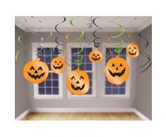 Amscan International 679467 Décoration à suspendre tourbillon Ensemble de fête d'Halloween