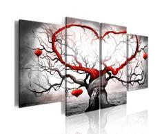 Impression sur toile 160x80 cm - 4 Parties - Image sur toile - Images - Photo - Tableau - Abstraction 5717 160x80 cm B&D XXL