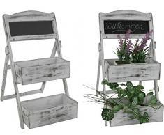 Petite étagère avec tableau-multistore, étagère à épices, étagères pot pour herbes aromatiques avec 3