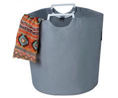 Corbeille à linge 30 L - Gris - 60/40/72 cm (L/l/H) - polyester - COULEURS AU CHOIX