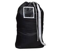 Handy Laundry Sac à linge pratique avec sangle d'épaule pour le transport, conçu pour porter des charges lourdes 61 x 91,4 cm