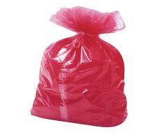 enov CM400 soluble en plastique Dissolvable bande sac à linge, rouge (Pack de 200)