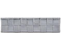 Wenko 21531100 SDB Adria Boîte de Rangement Gris Dimensions 26,0 x 17,0 x 6,5 cm