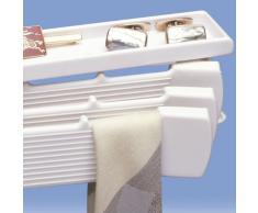 Rayen 2203 Porte-Cravate ABS Blanc 16 x 24,8 x 0,3 cm