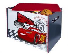 Worlds Apart 864455 Moderne Coffre de Rangement Disney Car Bois/MDF Rouge/Blanc 60 x 40 x 40 cm
