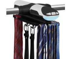 Trendworx 4078 rangement pour pantalon et porte-cravates électrique avec éclairage