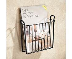 porte revue mural acheter porte revues muraux en ligne sur livingo. Black Bedroom Furniture Sets. Home Design Ideas