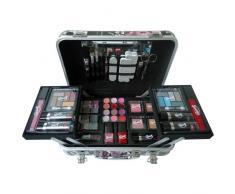 Gloss! - 814/B - Mallette/coffret de Maquillage - 64 Pièces, Coffret Cadeau-Coffret Maquillage