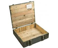 Boîte à munitions TNT Caisse de rangement env. 61 x 63 x 20 cm militaire Boîte Box en bois boîte des Munitions vin Boîte Pomme Shabby Vintage