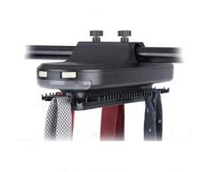 GOTOTOP Porte-Cravate Electrique Rotatif avec LED Capacité 30pcs Cravates + 5pcs Ceintures
