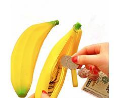 OVERMAL Jolie Cravate Fermeture De Silicone Banane Les Porte - Monnaie Multifunctio Portefeuilles