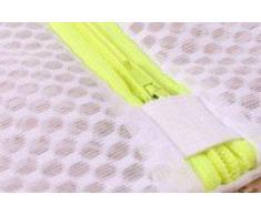 Lot complet de 4 filets à linge toutes tailles (sac de lavage) spécialement conçus pour vos linges sensibles ou de qualité